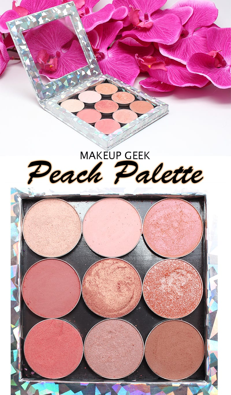 Makeup Geek Peach Palette