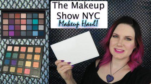 The Makeup Show NYC Makeup Haul