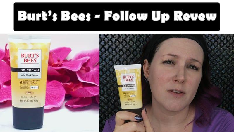 Burt's Bees BB Cream Light Follow Up Review