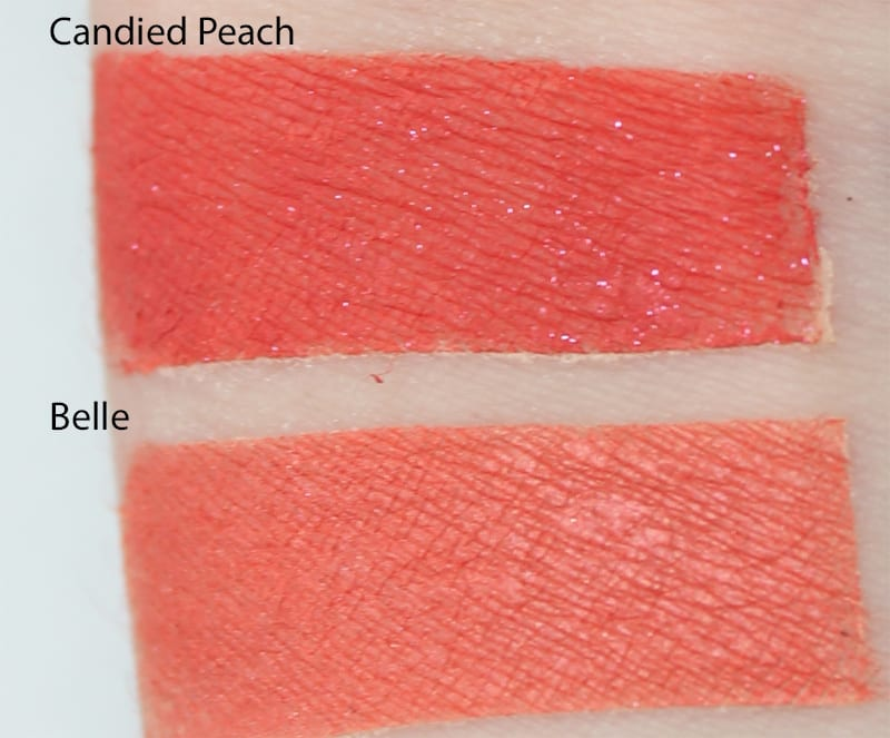 Silk Naturals Belle dupe for Too Faced Candied Peach swatch