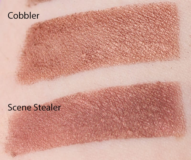 Silk Naturals Scene Stealer dupe for Too Faced Cobbler swatch