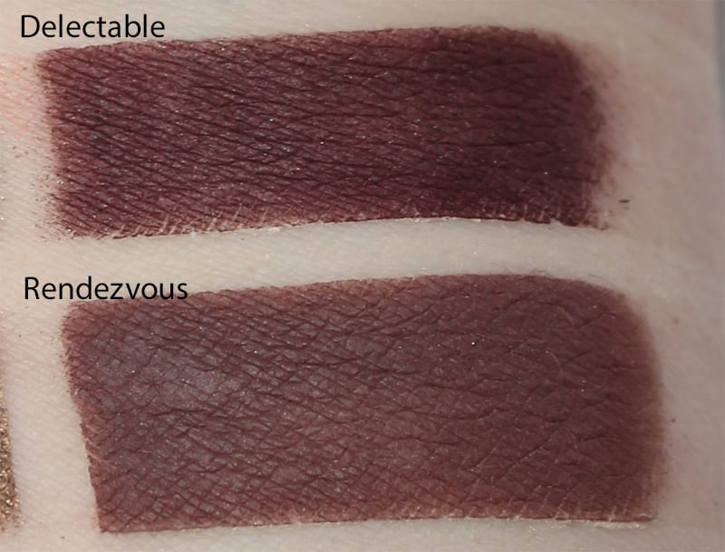 Silk Naturals Rendezvous dupe for Too Faced Delectable swatch