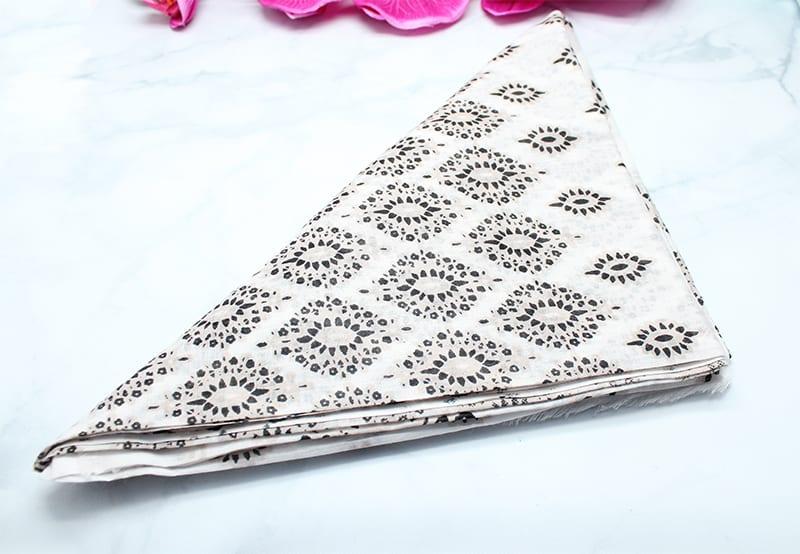 Hat Attack Neutral Diamonds-printed Sarong
