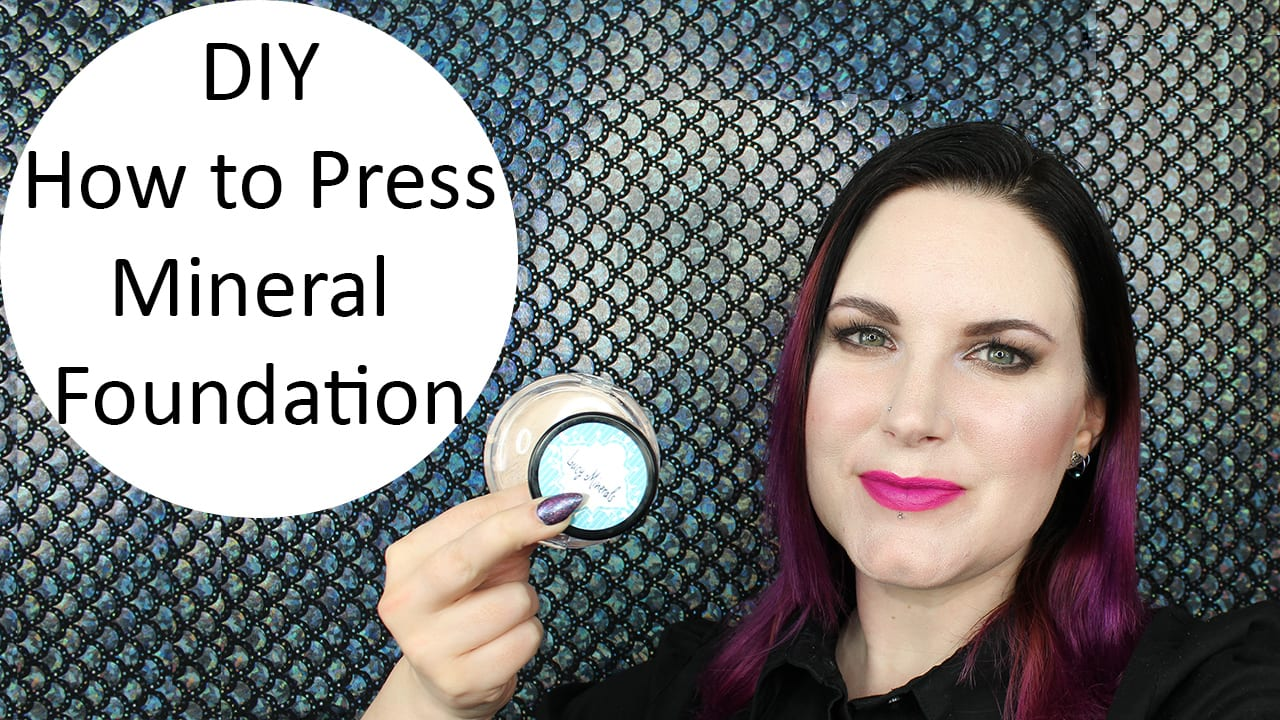 How to Press Mineral Foundation Video Tutorial