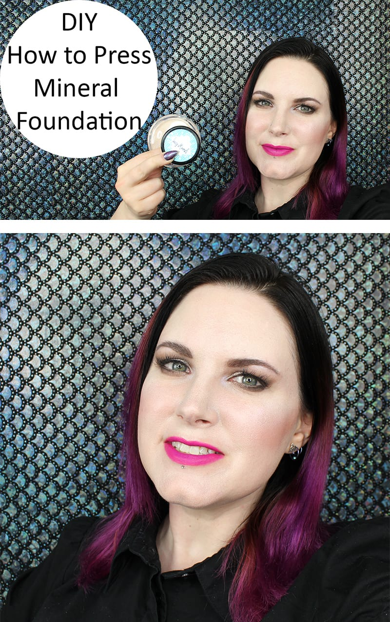 How to Press Mineral Foundation