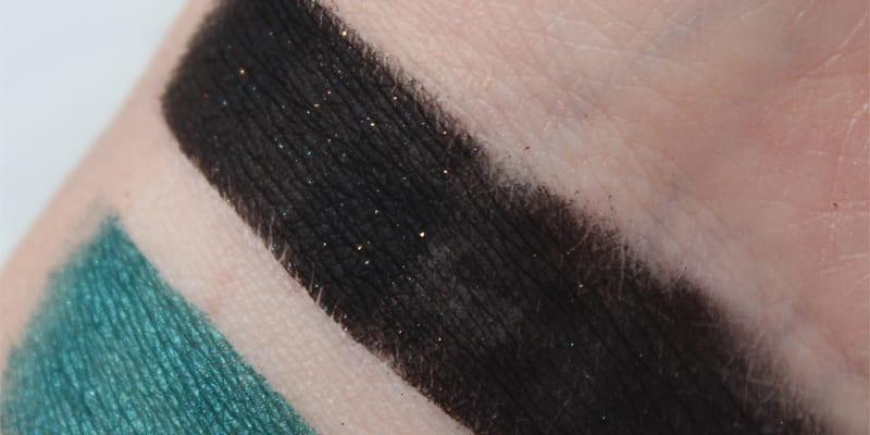 Jeffree Star Black Rainbow swatch