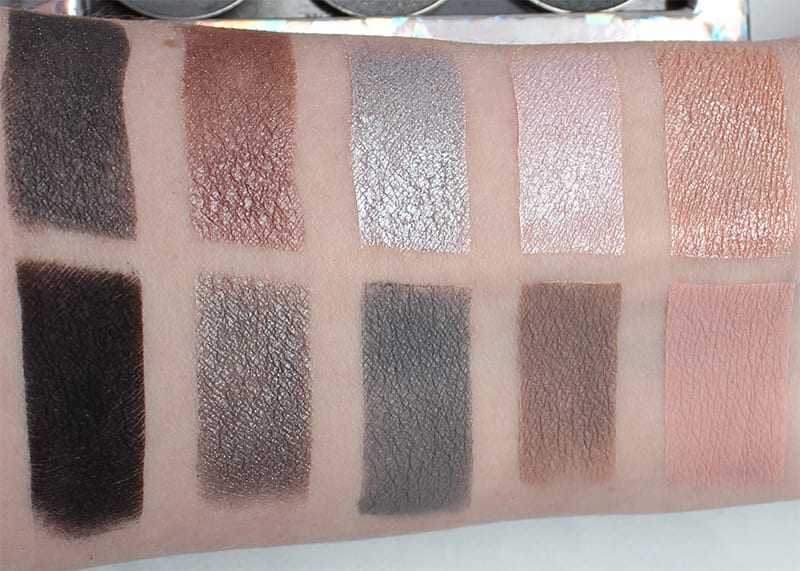Makeup Geek Grey Palette Review, Swatches, Looks