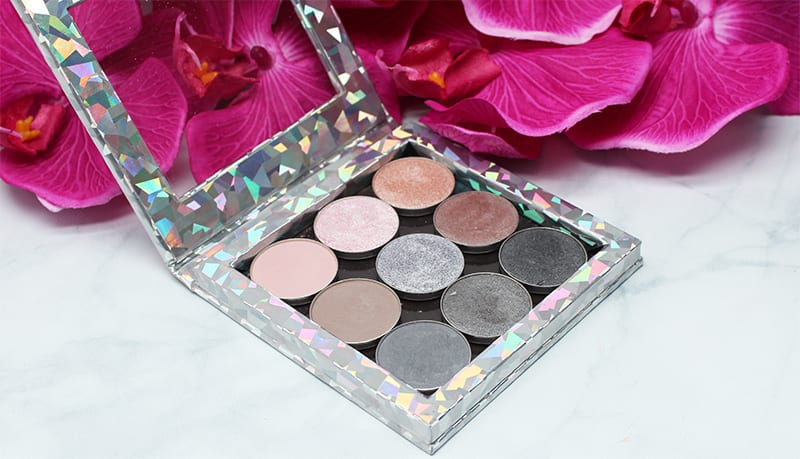 Makeup Geek Grey Palette Review and Swatches