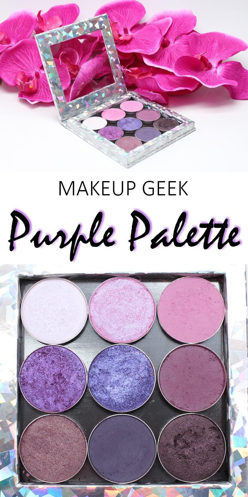 Makeup Geek Purple Palette