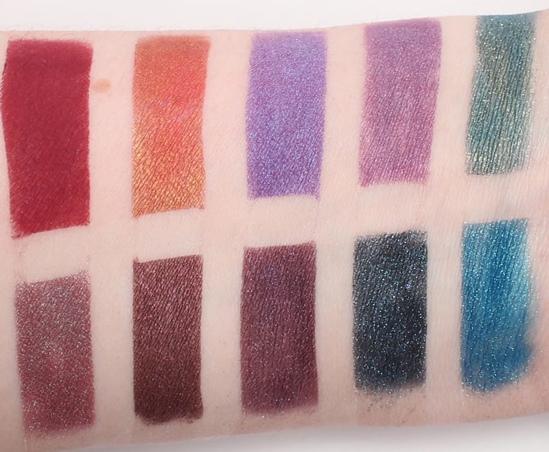 My Pretty Zombie Duochrome Eyeshadows Swatches and Review