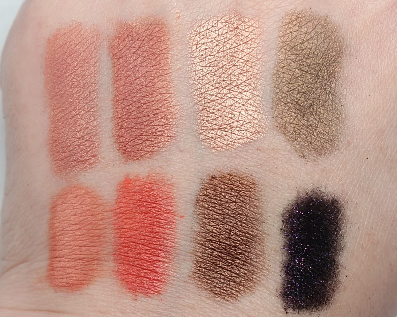 Silk Naturals Plenty of Peaches Favorite Shades Swatches