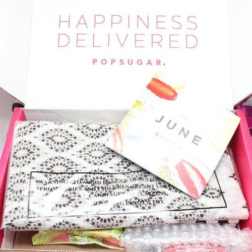 Popsugar June 2016 Must Have Box