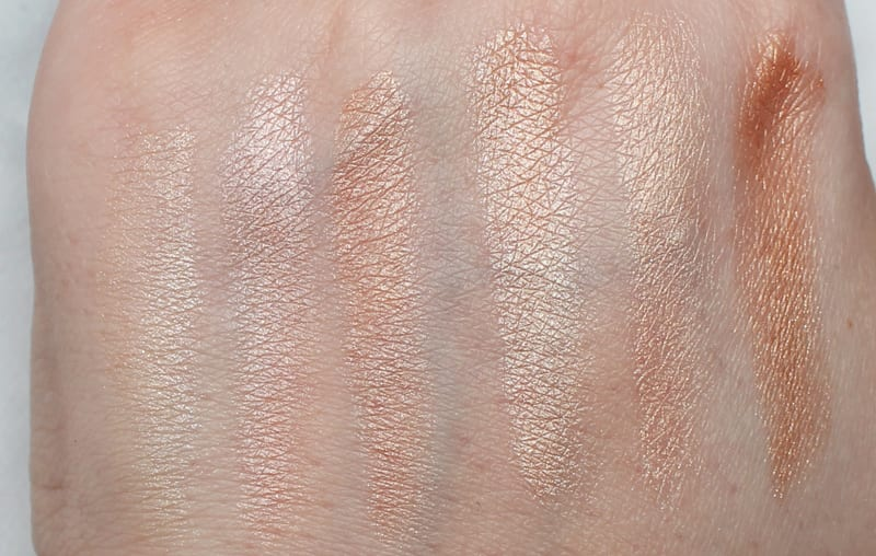 Pur Strobing Palettes in Moonlight and Sun-Kissed