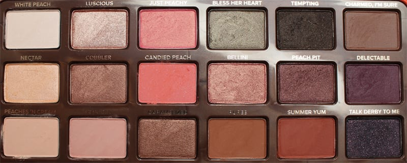 Too Faced Sweet Peach Palette Organic Vegan Dupe