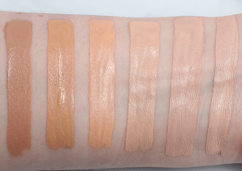 Too Faced Born This Way Concealer Swatches