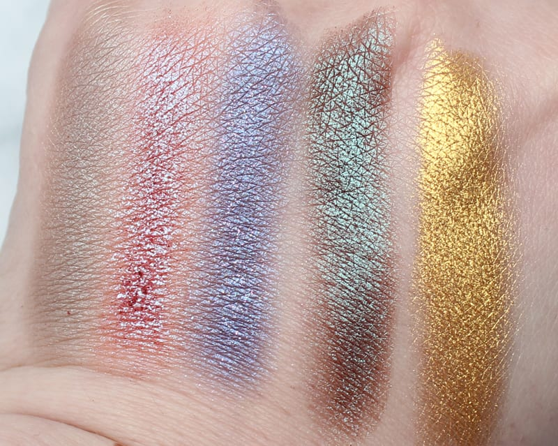 Fyrinnae Pressed Eyeshadows Review and Swatches