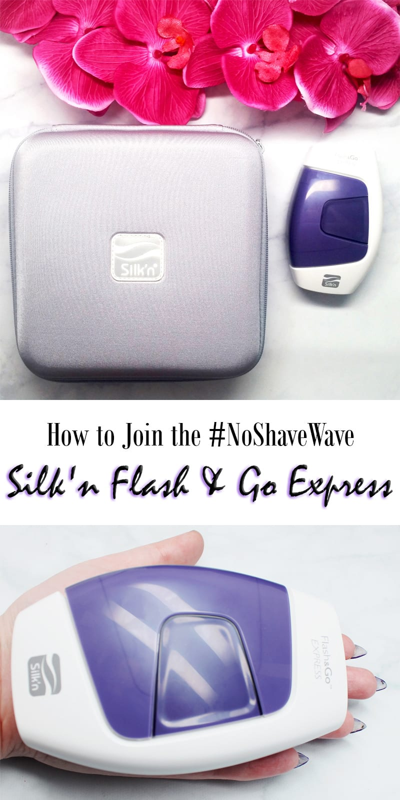 How to Join the No Shave Wave with Silk'n Flash & Go Express