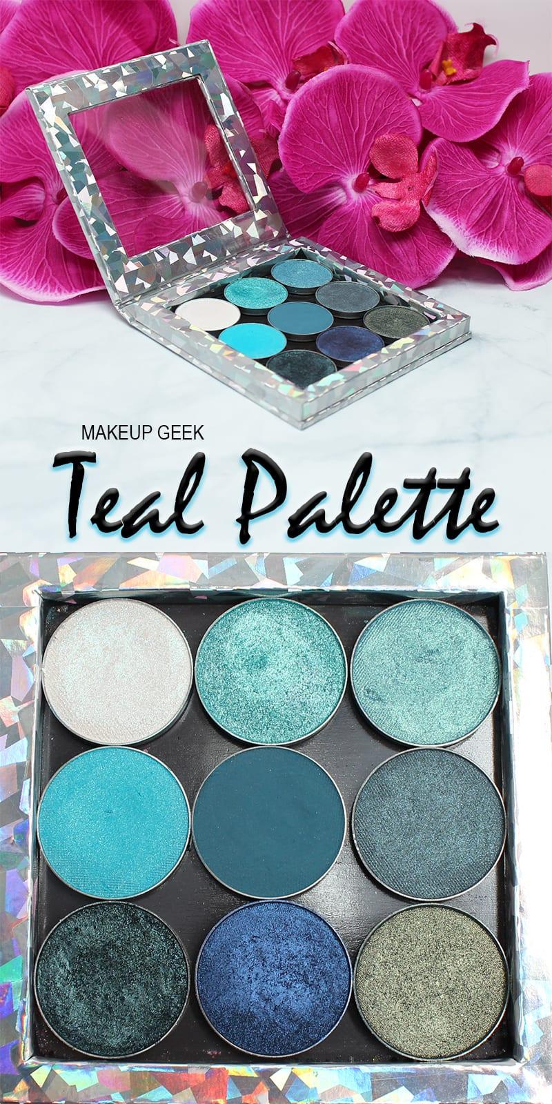 Makeup Geek Teal Palette
