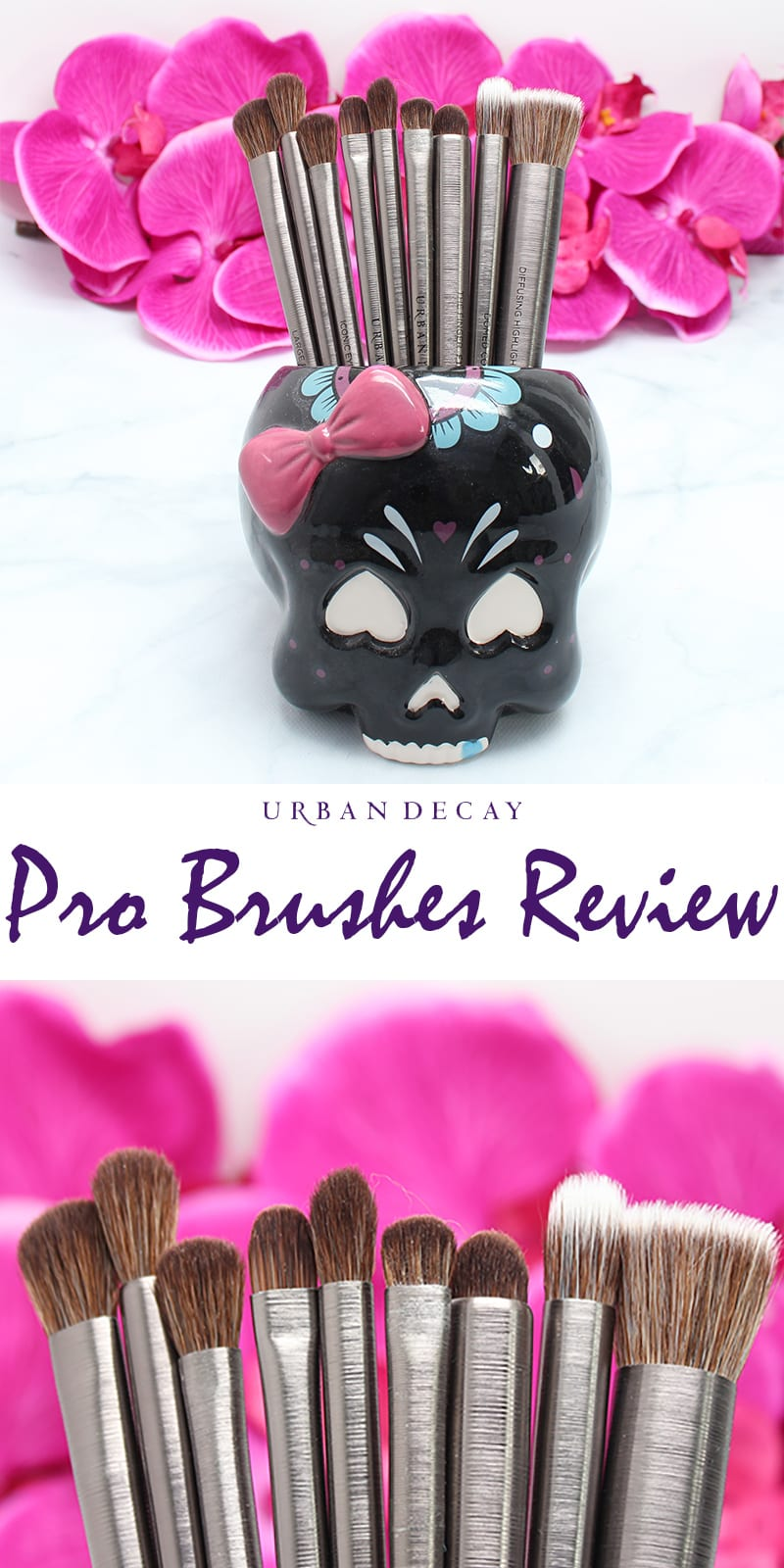 Urban Decay Pro Brushes review and comparison video