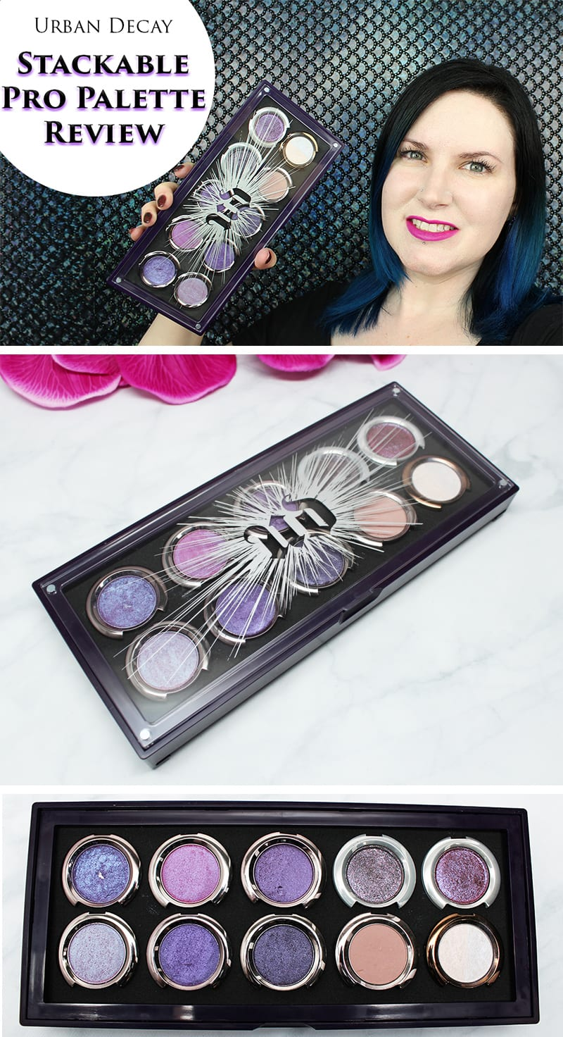 Urban Decay Stackable Pro Artistry Palette Review