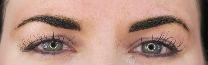 3 Days After Microblading