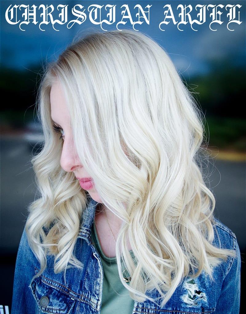 Rainbow Hair Color Ideas with Christian - Khaleesi Blonde