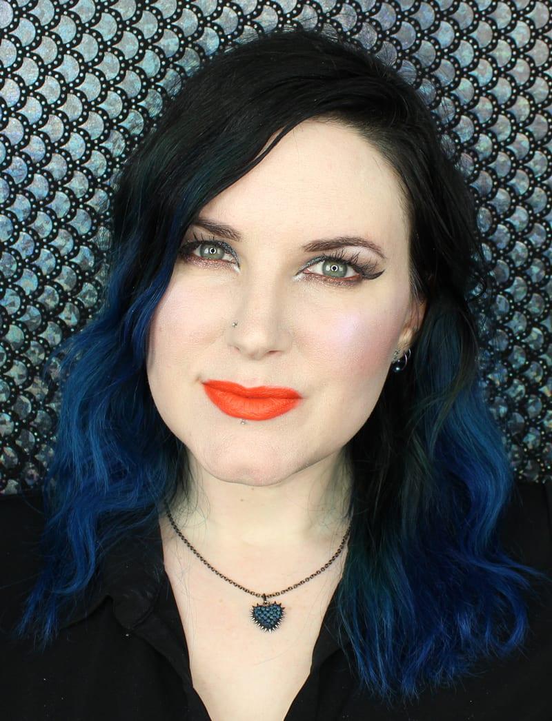 Urban Decay Vice Lipstick Swatches - Crash
