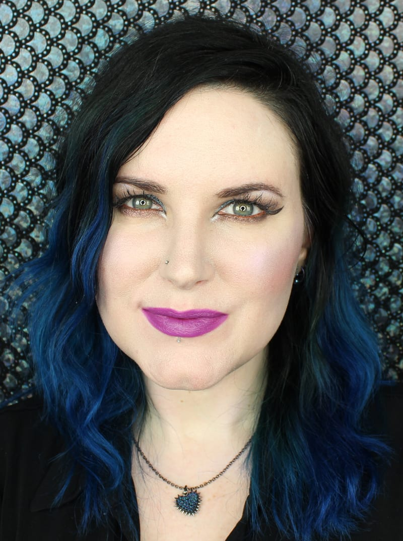Urban Decay Vice Lipstick Swatches - Notorious