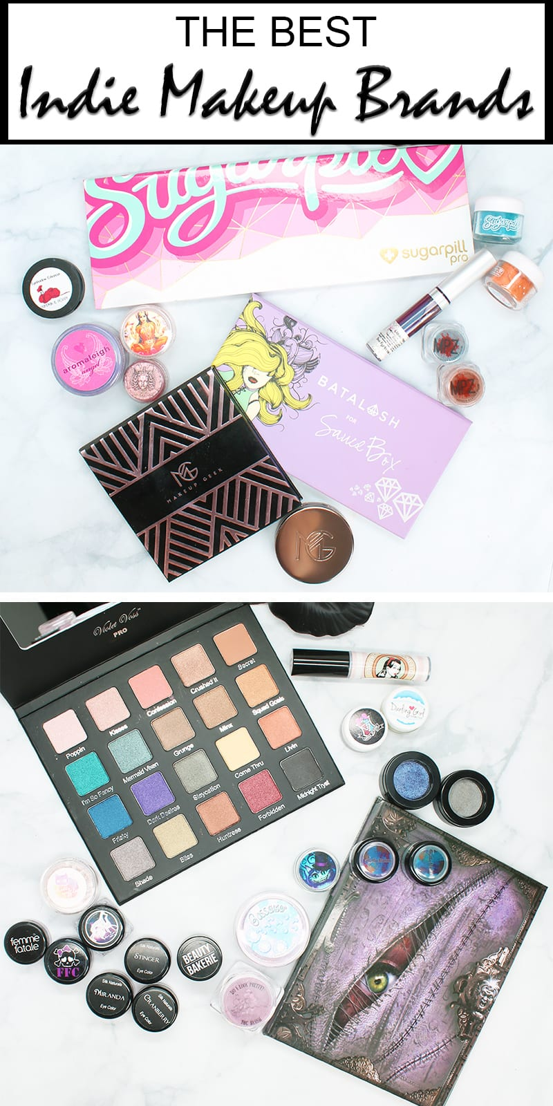Best Indie Makeup Companies
