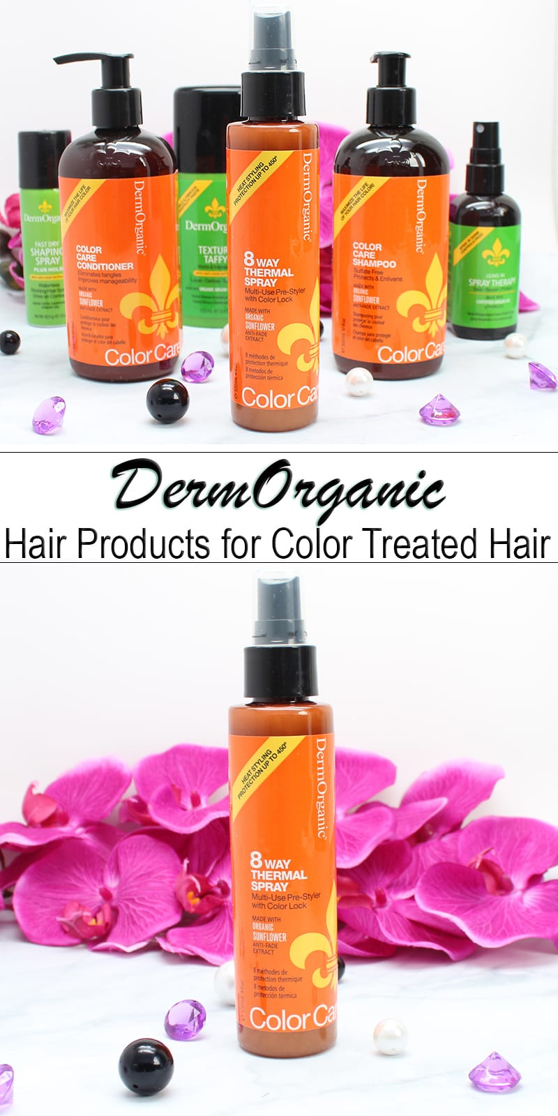 DermOrganic Color Care Hair Care - Hair products for color treated hair