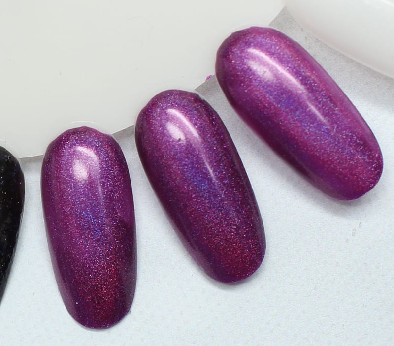 KBShimmer Orchidding Me? swatches