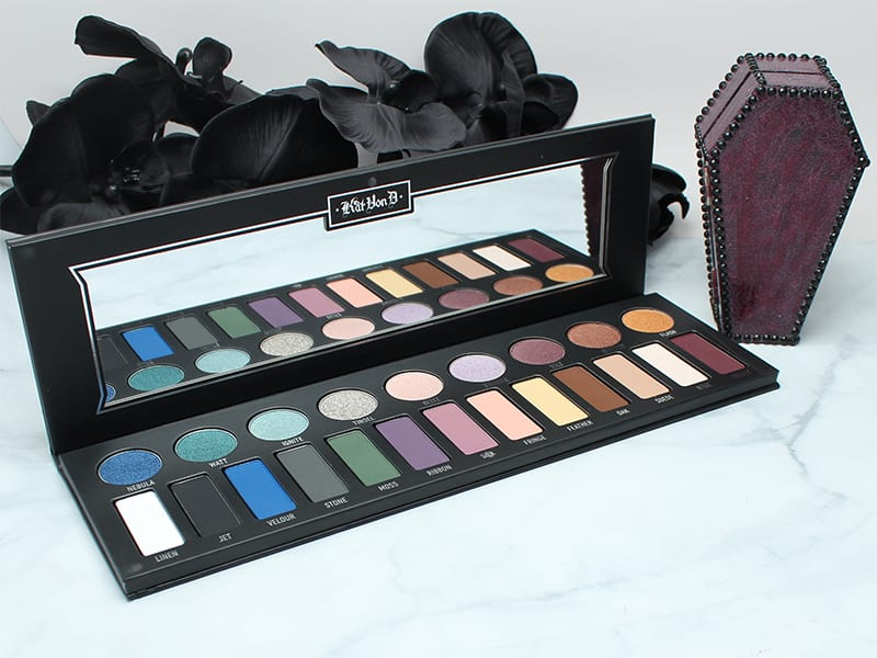 Kat Von D MetalMatte Eyeshadow Palette First Impressions, Looks, Swatches, Review