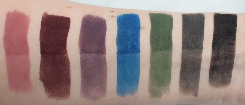 Kat Von D MetalMatte Eyeshadow Palette Swatches, Looks, First Impressions, Review