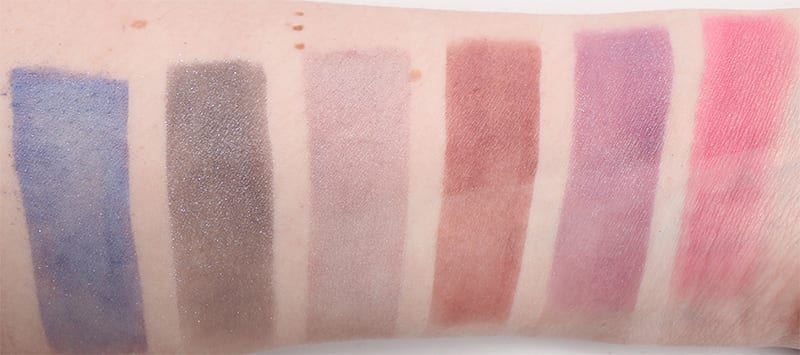 My Pretty Zombie Duochrome Blushes Swatches