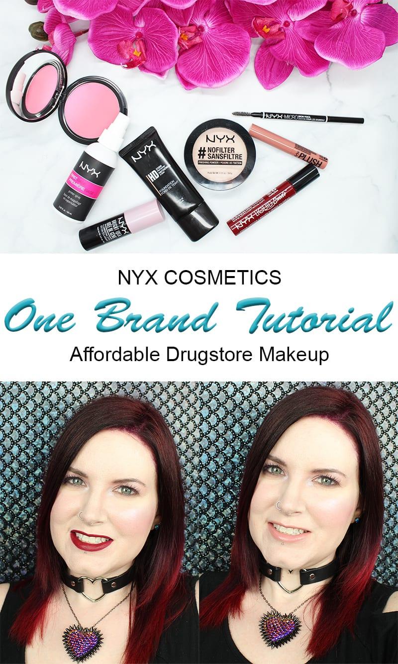 One Brand Drugstore Tutorial Nyx Cosmetics