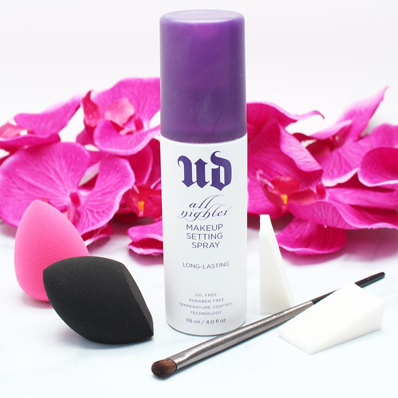 More Life Changing Beauty Hacks - Urban Decay All Nighter Spray is Multi-Purpose