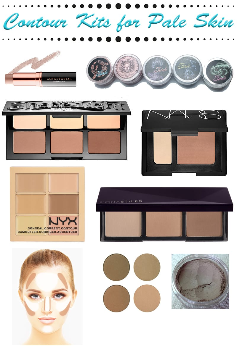 Contour Kits for Pale Skin