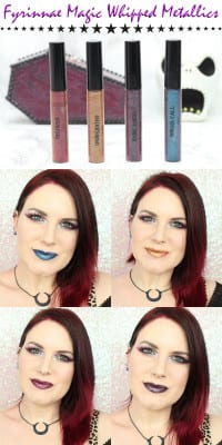 Fyrinnae Magic Whipped Metallics Lipsticks