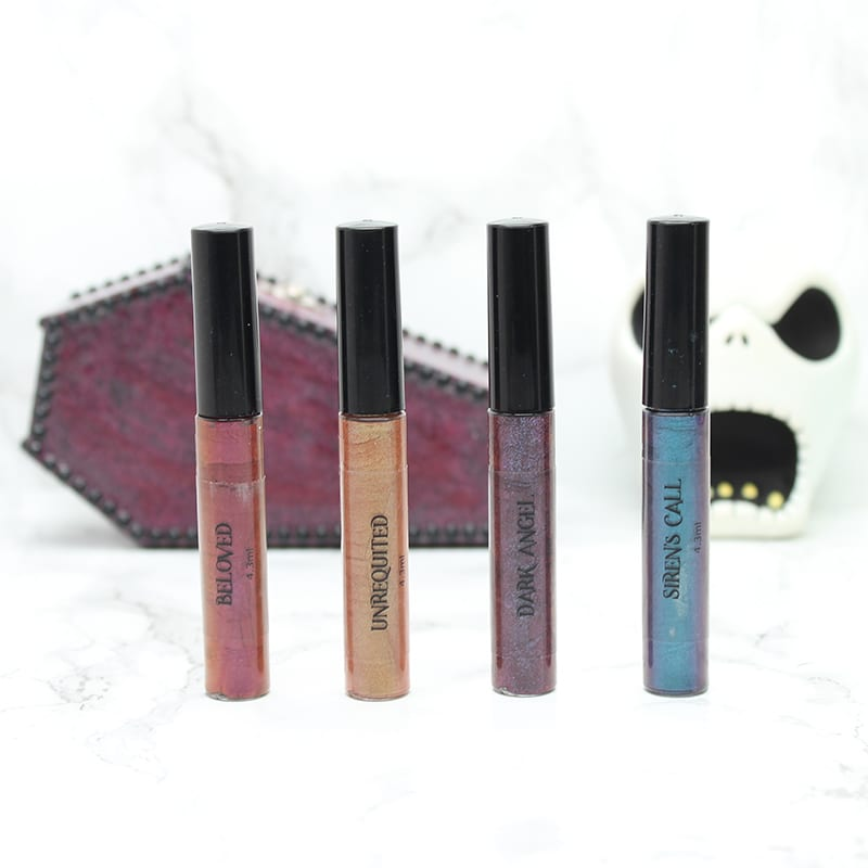 Fyrinnae Magic Whipped Metallics Lipsticks - Swatches, Looks, Review
