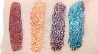 Fyrinnae Magic Whipped Metallics Lipsticks Swatches, Looks, Review