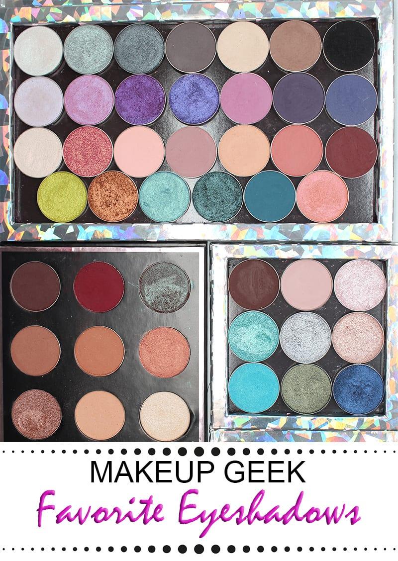 Favorite Makeup Geek Eyeshadows