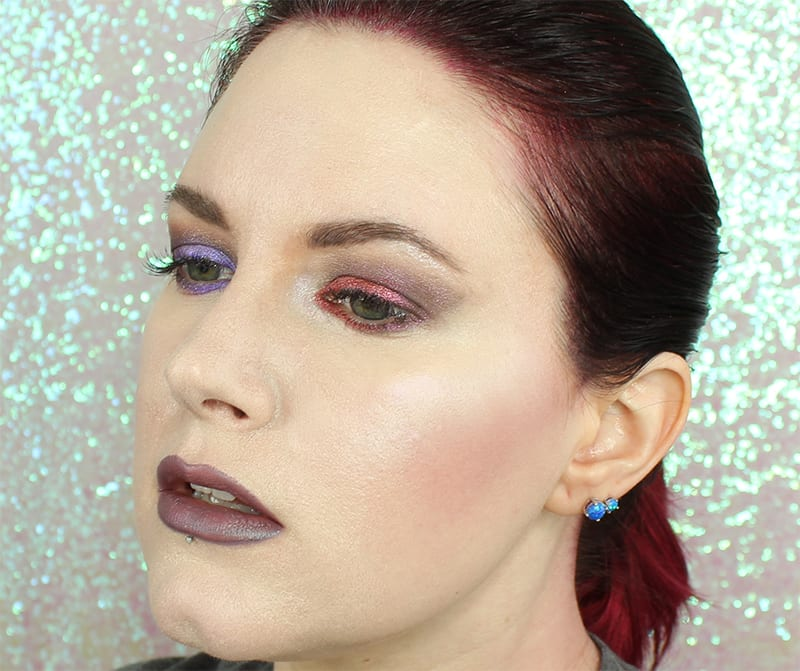 Notoriously Morbid When the Wolfbane Blooms Vegan Halloween Palette Review Swatches Looks