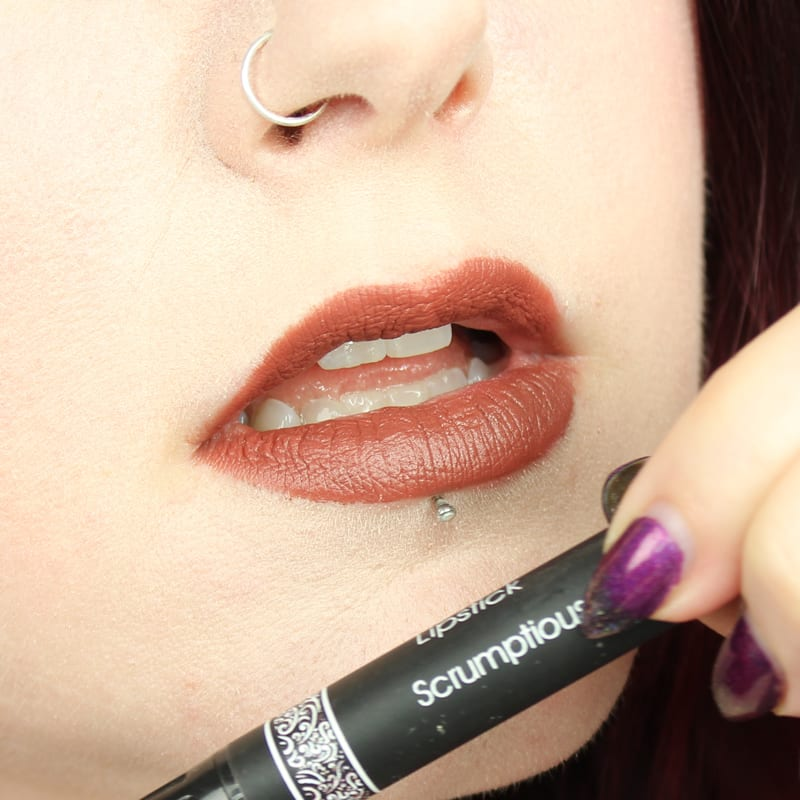 Silk Naturals Fall 2016 Collection Review Scrumptious swatch