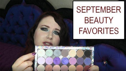 September Beauty Favorites 2016