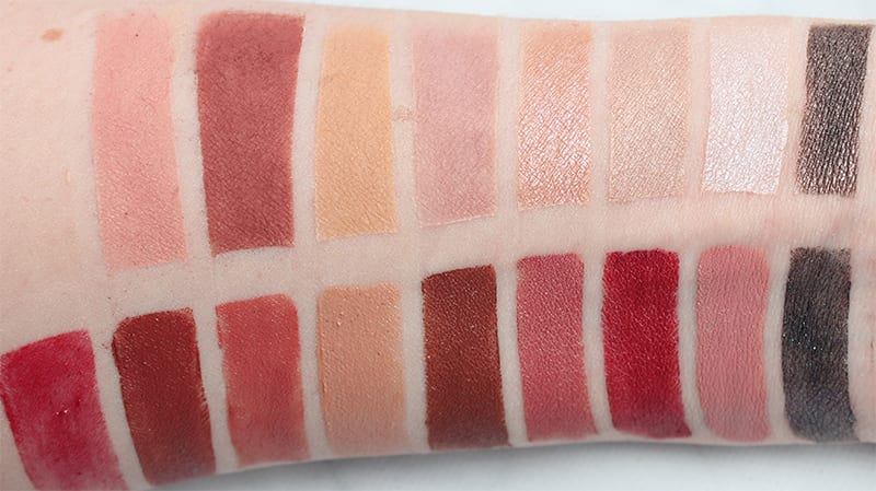 Silk Naturals Fall 2016 Collection Review Swatches Looks