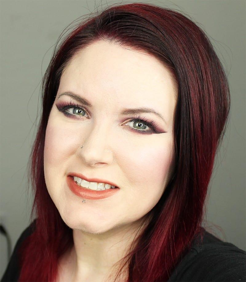 Kat Von D MetalMatte Smoky Cranberry Cruelty-Free Tutorial