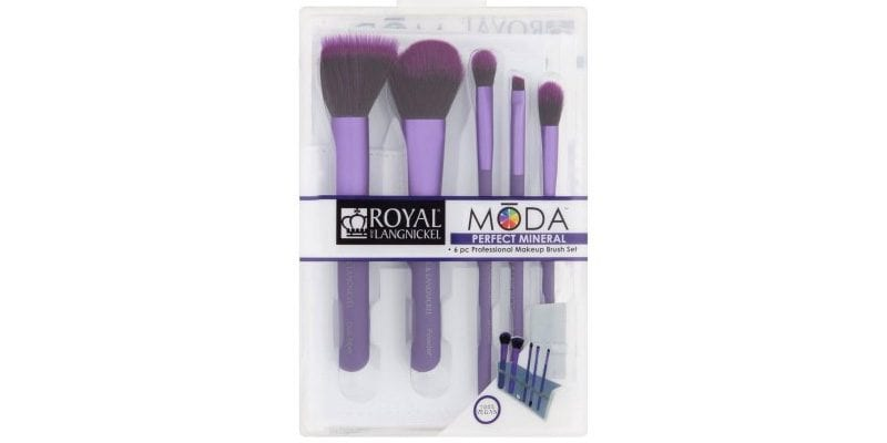 Royal and Langnickel Moda Perfect Mineral Professional Makeup Brush Set