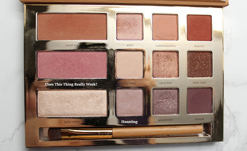 Tarte Swamp Queen Palette Review Swatches Video