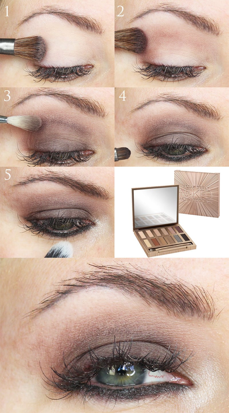 Urban Decay Naked Ultimate Basics Magnet Tutorial