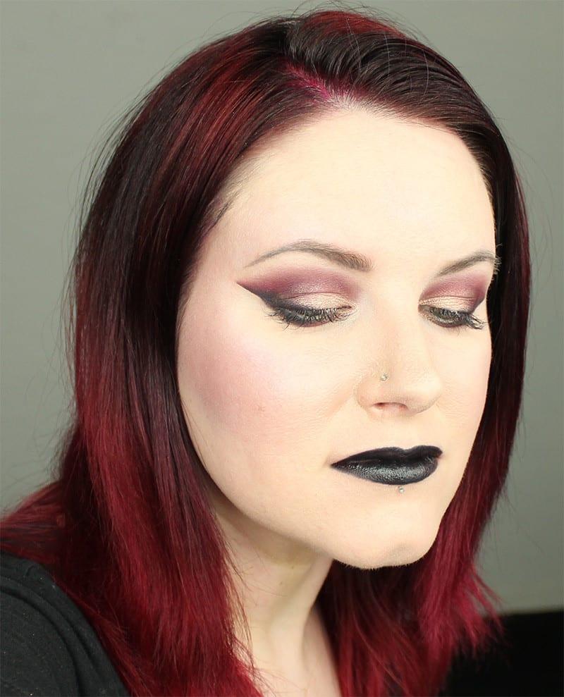 Kat Von D MetalMatte Smoky Cranberry Tutorial